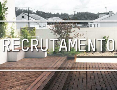 Recrutamento: Arquiteta(o) Paisagista – Duas Vagas